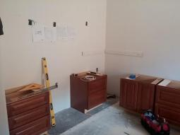 Laying out cabinets