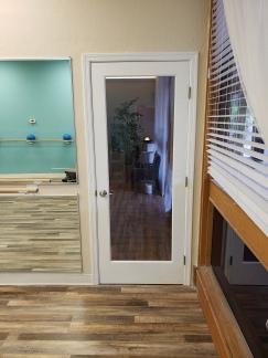 New door installed